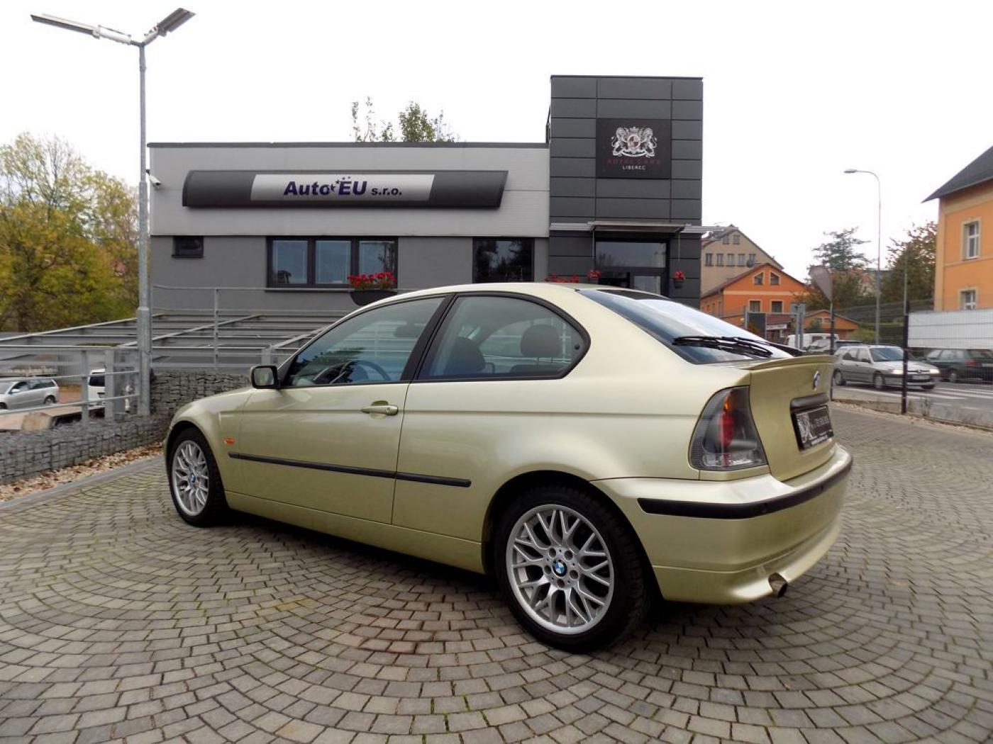 BMW Řada 3 316 Ti Compact Navi Xenon