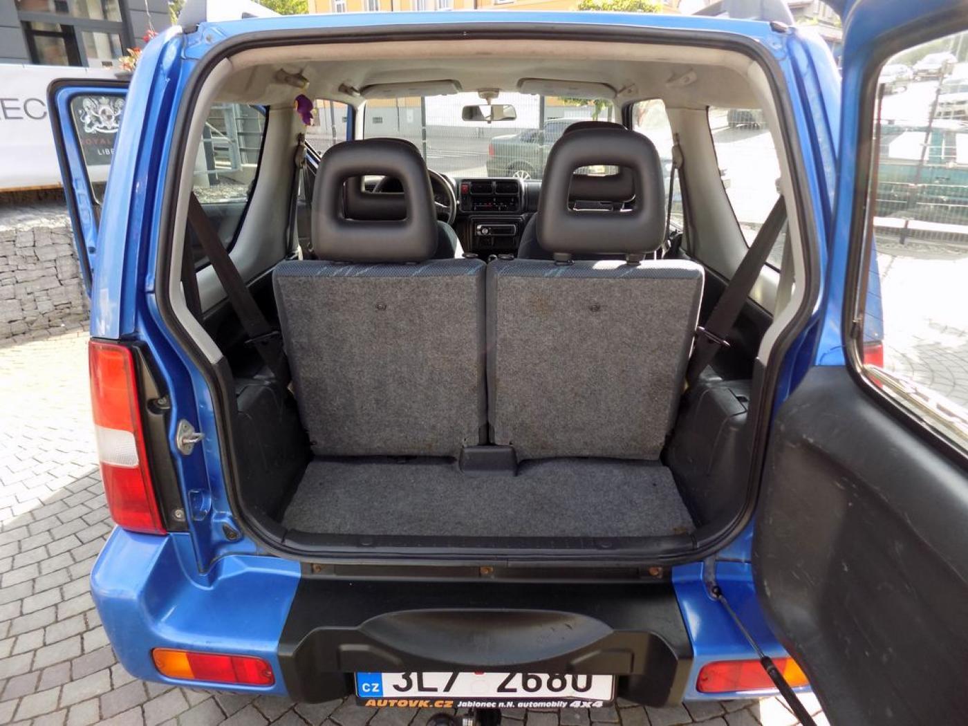 Suzuki Jimny 1.3i 4x4 tažné zařízení