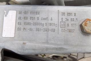 Agados  VZ3362P Cargo Al.Skříň